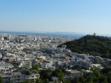 View of Phillopappas Hill from Parthenon