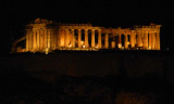 View of the Parthenon from my dinner perch