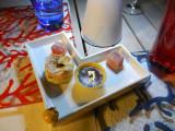 Dessert at the terrace restaurant