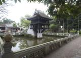 Next to the Ho Chi Minh mausoleum the One Pillar Pagoda.
