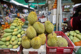 Durians! Mmhhh! (you have to taste). Don't smell, just eat. Then learn to smell.