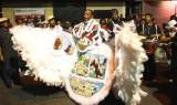 Mardi Gras Indian on St. Joseph's Day