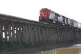 Train Trestle that Crosses Spillway (please read under photo)