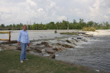 Where the Mighty Mississippi is Flowing Into Lake Pontchartrain