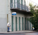 Walking the dog in Faubourg Marigny