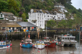 Polperro Harbor: A Virtual HDR Image