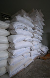 At a Commercial Bakery: Bags of Flour