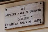 A Monégasque Street Sign