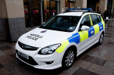 The Welsh Police Car