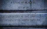 A Daughters of the Confederacy Stone