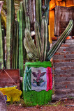 barril bandera mexico