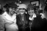 Tres hermosas sonrisas