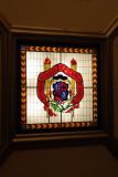 vitral escudo umsnh