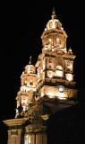 CATEDRAL Morelia de noche