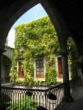 Jardín en la pared