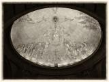 Cúpula de la iglesia subterránea. Valle de los Caídos.