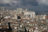 view onto Havana from my hotel Sevilla