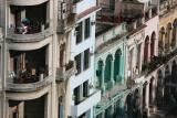 Calle Paseo del Prado in Havana