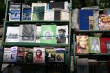 book sales on Plaza de Armas
