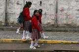 Alausí schoolchildren