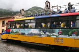 take Chiva Express for unique trip through the Andean countryside