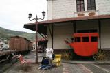 Alausí train station