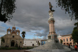 Riobamba is 200 km south of Quito