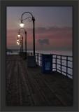 Edison's Agnostic Sunrise Evening Santa Monica Pier