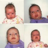 Failed passport photos (we still love her)