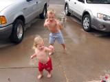 Crazy rain dance