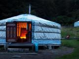 4th - Cosy Yurt, Alistair