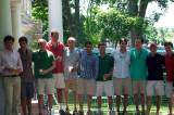 Rich and his 4th year frat brothers.