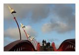 Dans le port d'Amsterdam ....