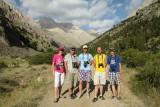 Birding crew in the Aladag Mountains