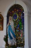 Window by Irish artist  Harry Clarke in Grange Church