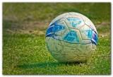 Beat Up Soccer Ball