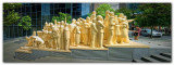 The Illuminated Crowd Panoramic  I