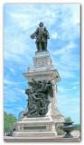 Samuel de Champlain Statue - Quebec City