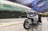 Autour d'une moto