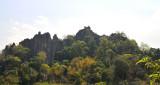 Karst mountains near wang saphung