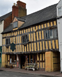 Elizabethan timber framed house built in 1610, restored by and for Robin Lloyd Antiques
