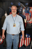 Jon with costumes from Captain America