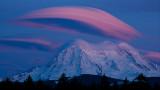 Mt. Rainier, After Sunset