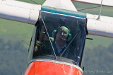 Piper Cub pilot and onboard photographer