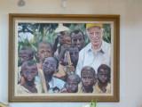 Norman Borlaug and farmers