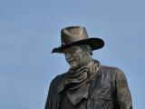 new John Wayne statue