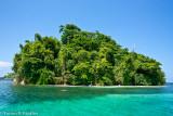 Island near Blue Hole