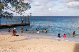 Early morning Bathers - Montego Bay