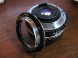 20mm lens and K1 ring used in the rose picture