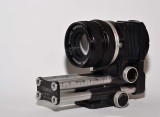 Novoflex 105mm F4 bellows lens and automatic bellows